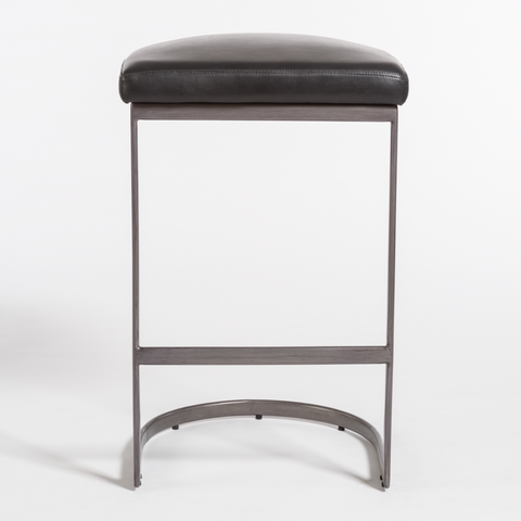 San Rafael Counter Stool in Aged Obsidian