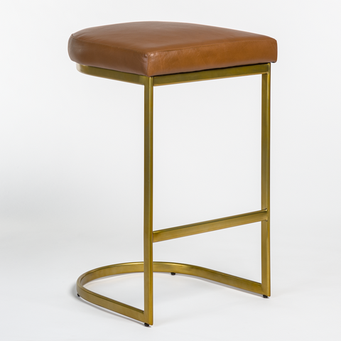 San Rafael Counter Stool in Tanned Umber