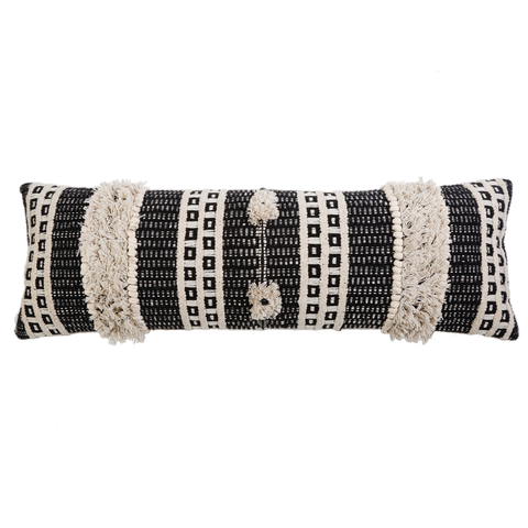 Sawyer Handwoven Pillow with Insert by Pom Pom at Home