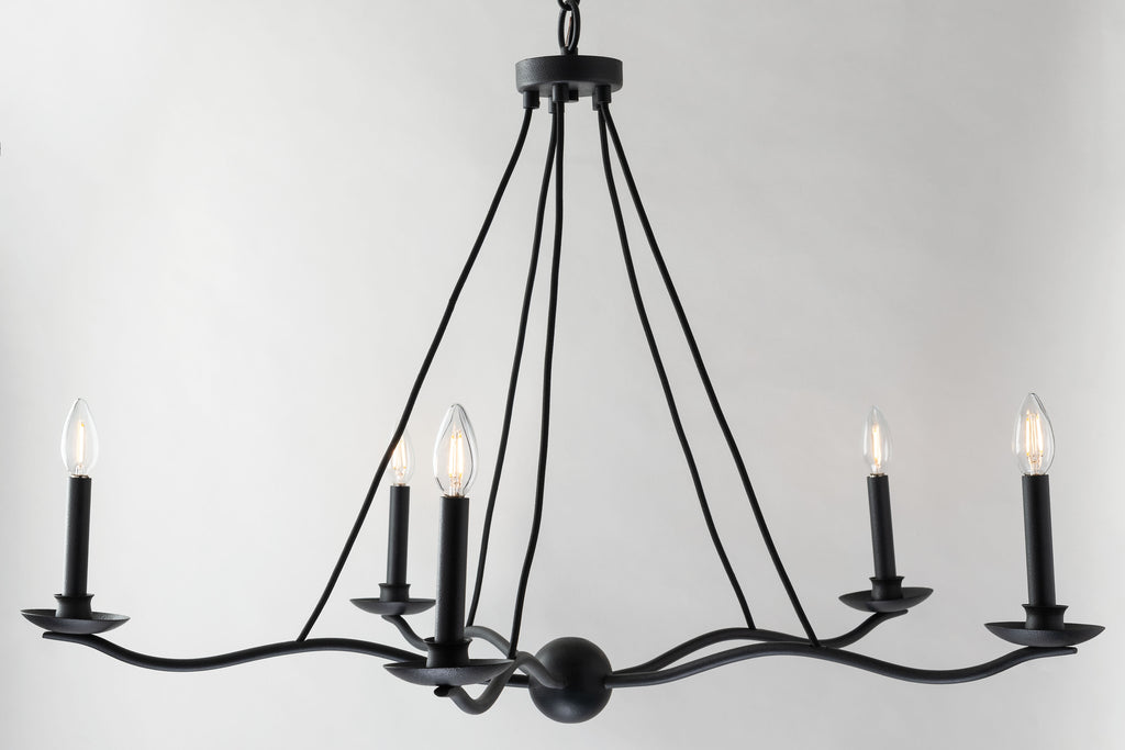 Sawyer Chandelier by Troy Lighting