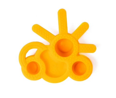 hello sunshine teether - by doddle & co.