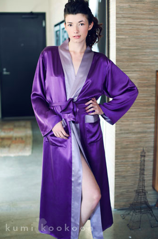 Long Kumi Robe design by Kumi Kookoon