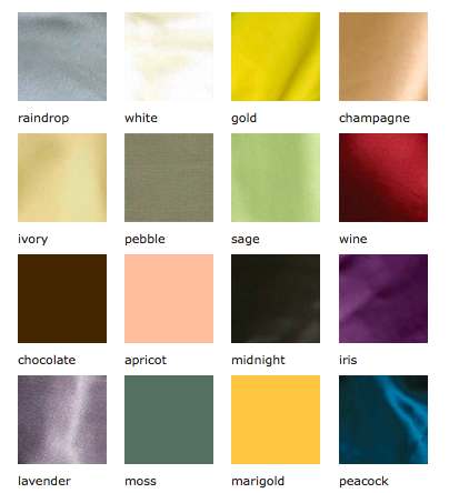 Color Swatches by Kumi Kookoon