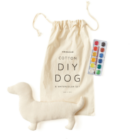 DIY Dog and Watercolor Set design by SirMadam