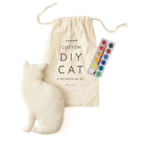 DIY Cat and Watercolor Set