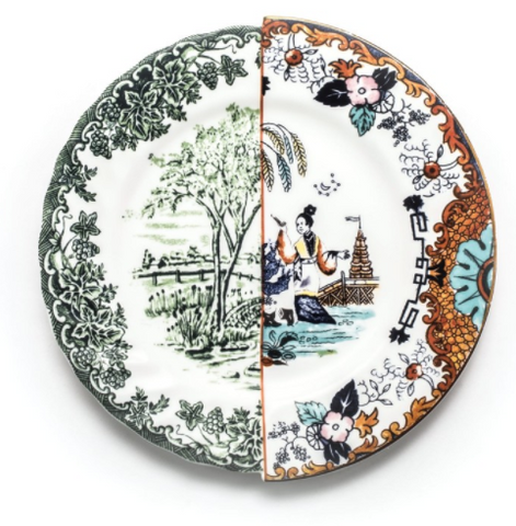 Copy of Hybrid Ipazia Porcelain Dinner Plate design by Seletti