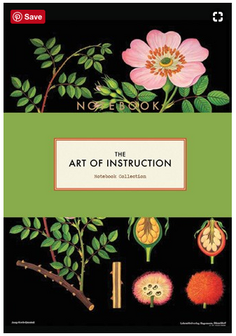 The Art of Instruction: Notebook Collection by Katrien Van der Schueren