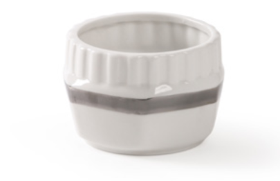 Diesel- Machine Collection Silver Edge Single Cup by Seletti