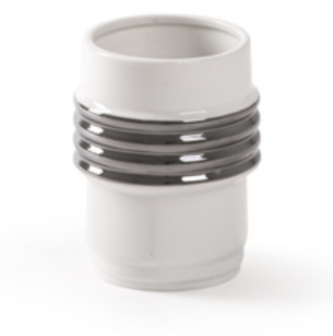 Diesel- Machine Collection Silver Edge Single Mug by Seletti