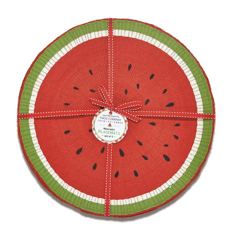 Fresh Picked Watermelon Placemats