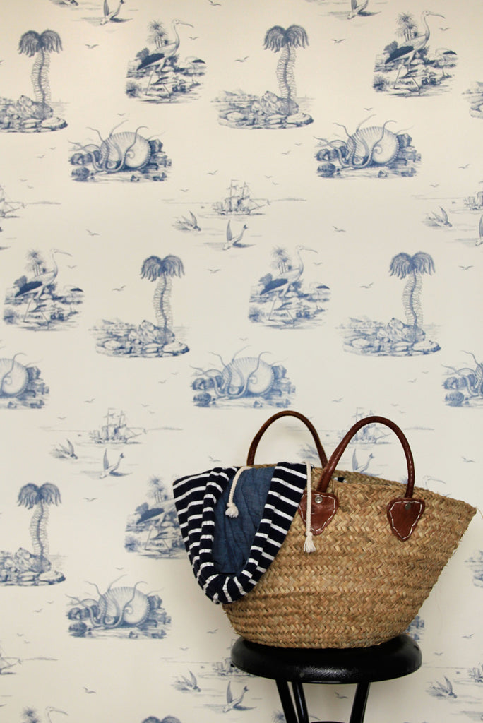 Sea Tales Wallpaper in Indigo Eyes by Abnormals Anonymous