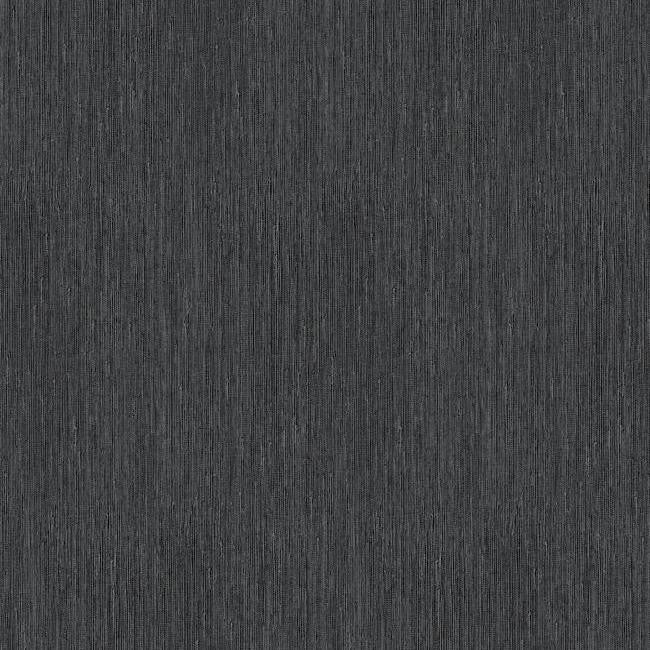 Vertical Grasscloth Wallpaper: Seagrass Faux Grasscloth Wallpaper In Black And Silver By