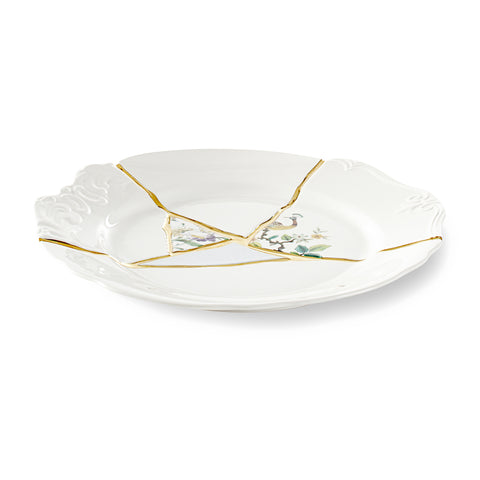 Kintsugi Dinner Plate 2 by Seletti