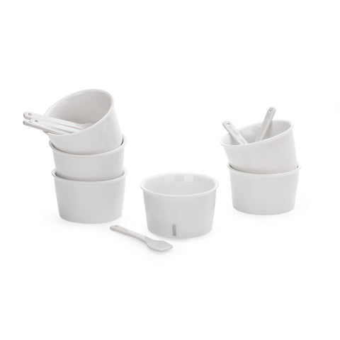 Set of 6 Estetico Quotidiano Ice Cream Bowls design by Seletti