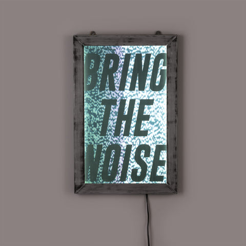 Diesel Bring The Noise Backlit Poster by Seletti