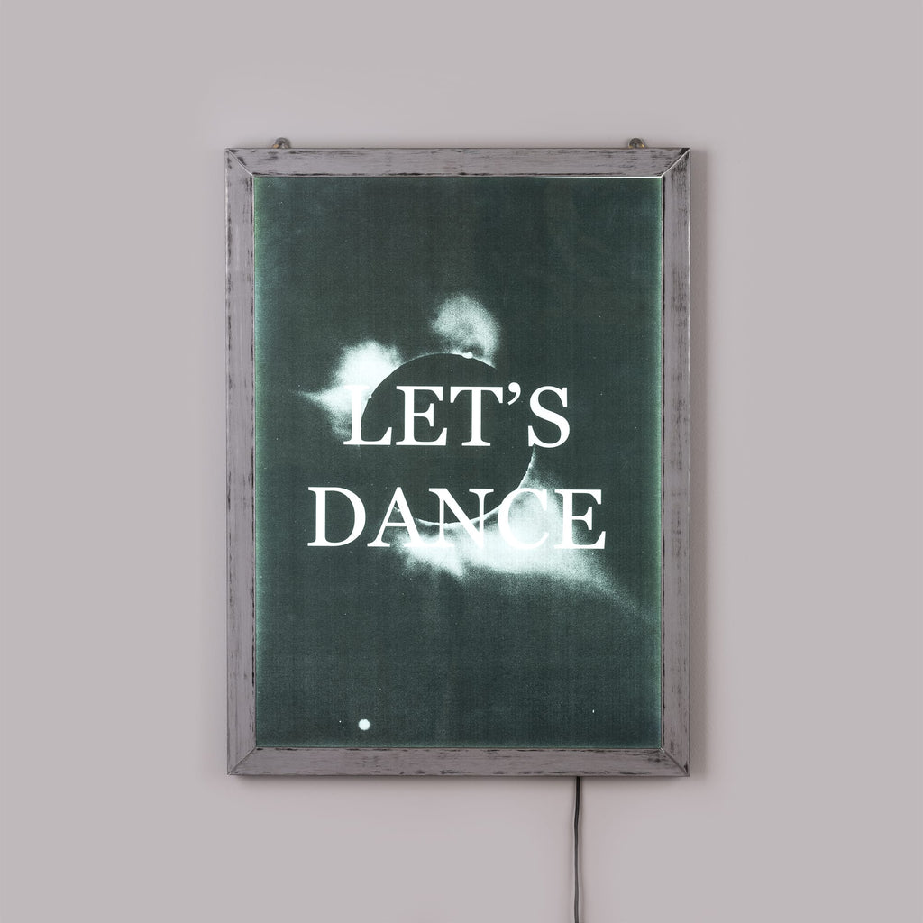 "Frame It Poster ""Let's Dance"" by Seletti"