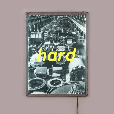 "Frame It Poster ""Hard"""