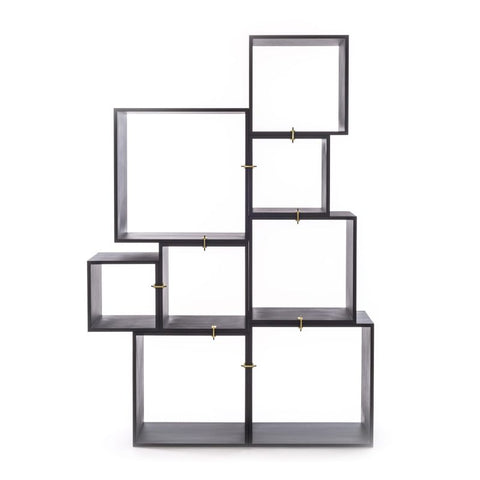 Assemblage Modular Bookcase in Antracite