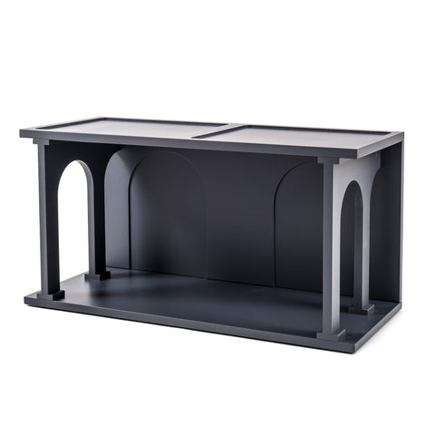 Renaissance Double Anthracite Bookcase Module design by Seletti
