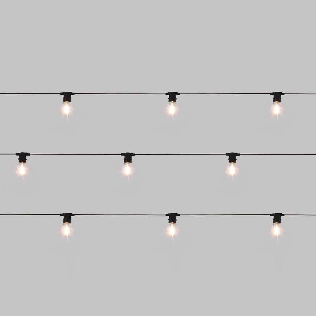 Bella Vista Set of 10 Lights in Clear design by Seletti