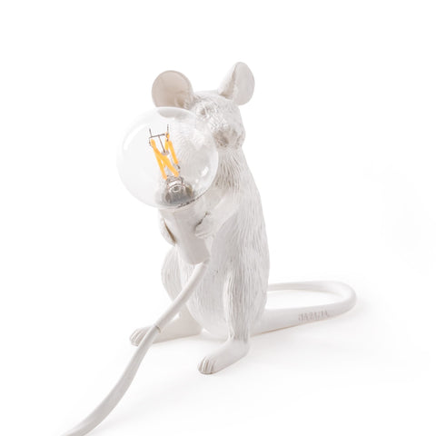 Mouse Lamp Sitting design by Seletti