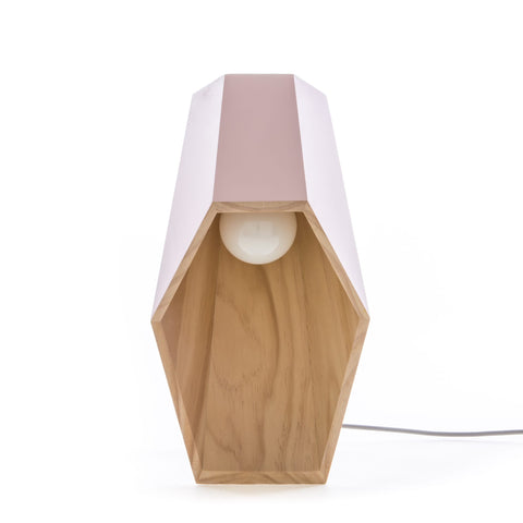 Woodspot Table Lamp in Pink design by Seletti