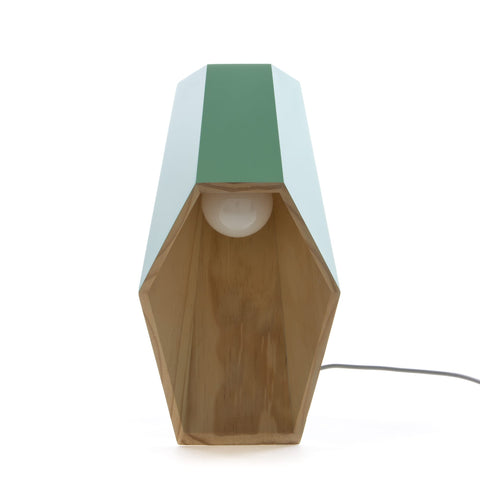 Woodspot Table Lamp in Green design by Seletti