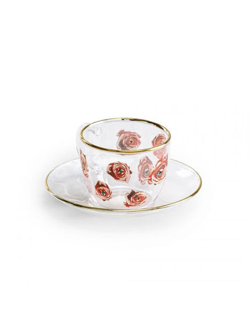 Coffee Cup Roses