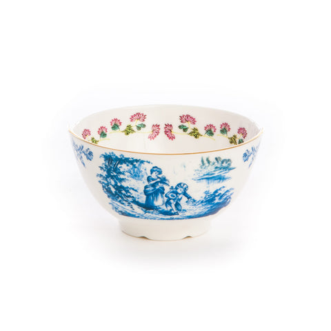 Hybrid Cloe Porcelain Fruit Bowl design by Seletti