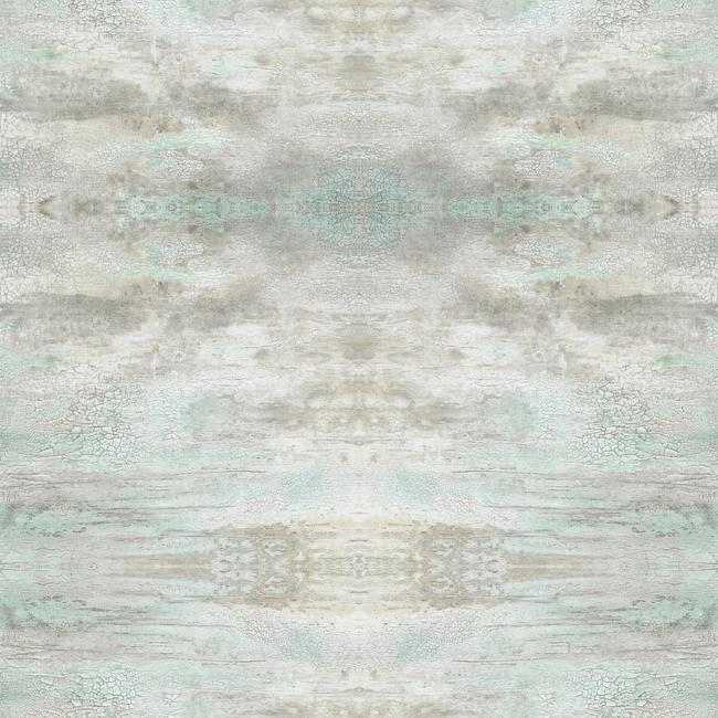 Sample Serene Jewel Wallpaper in Blue-Grey from the Impressionist Collection by York Wallcoverings