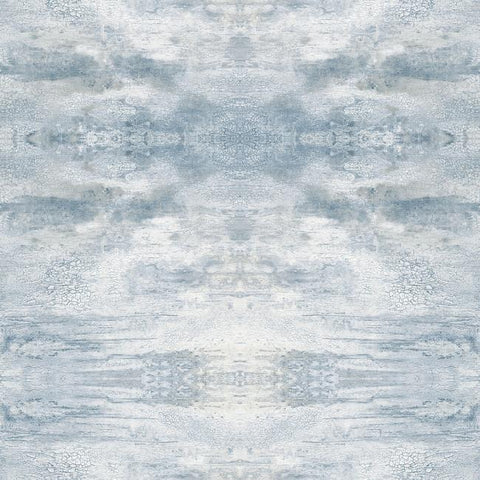 Serene Jewel Wallpaper in Blue from the Impressionist Collection by York Wallcoverings