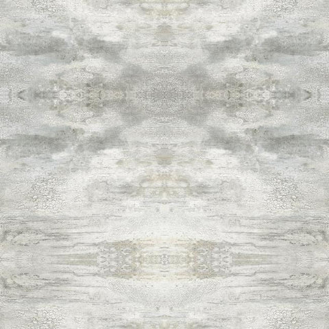 Serene Jewel Wallpaper in Grey from the Impressionist Collection by York Wallcoverings
