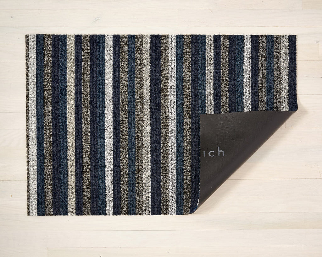 Even Stripe Shag Mat in Various Colors & Sizes