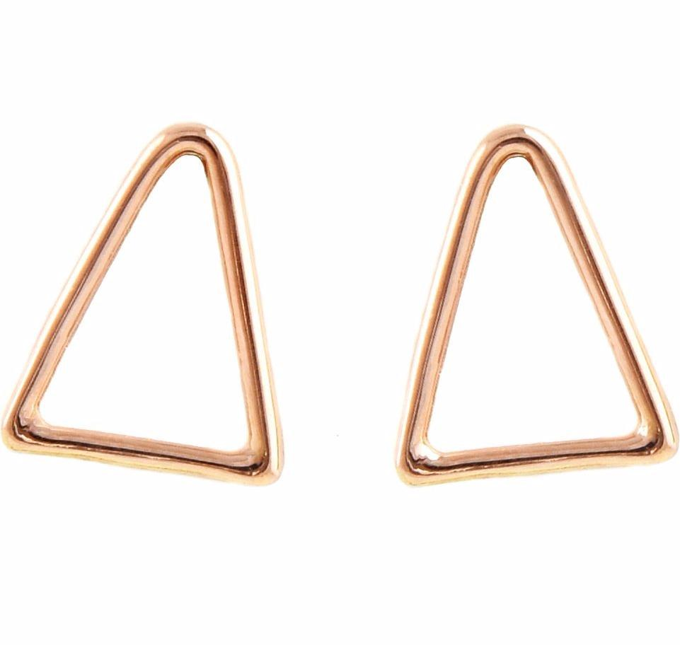 Shannon Triangle Studs design by Agapantha