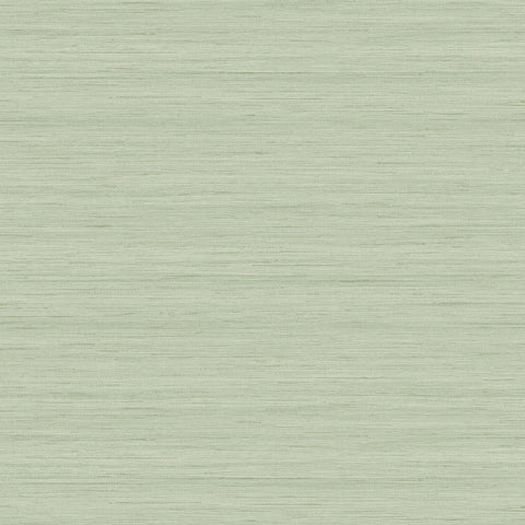 Shantung Silk Wallpaper in Lemongrass from the More Textures Collection by Seabrook Wallcoverings