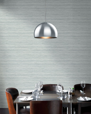 Shantung Silk Wallpaper in Nova from the More Textures Collection by Seabrook Wallcoverings
