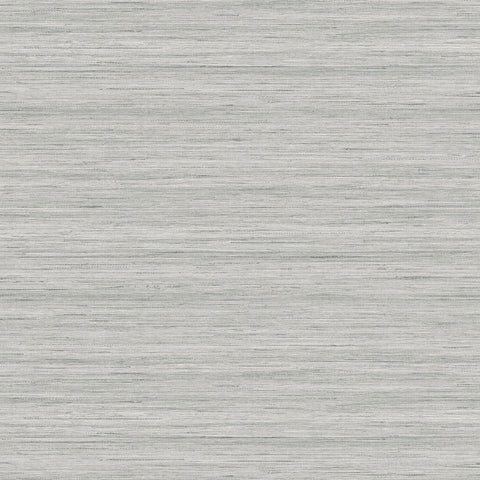 Shantung Silk Wallpaper in Stoneware from the More Textures Collection by Seabrook Wallcoverings