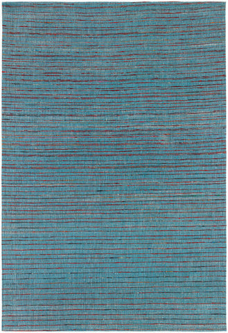 Shenaz Hand-Woven Dhurrie Area Rug in Dark Blue Multi design by Chandra rugs