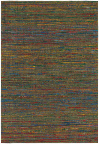 Shenaz Hand-Woven Dhurrie Area Rug in Yellow Multi