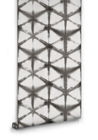 Shibori Star Wallpaper in Driftwood from the Shibori Collection by Milton & King