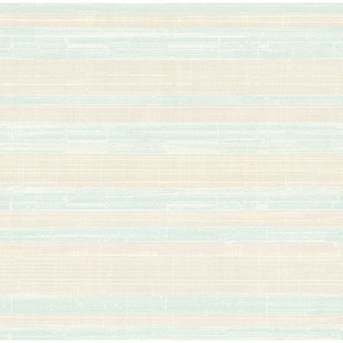 Shimmer Stria Wallpaper in Grey and Soft Blue by Seabrook Wallcoverings
