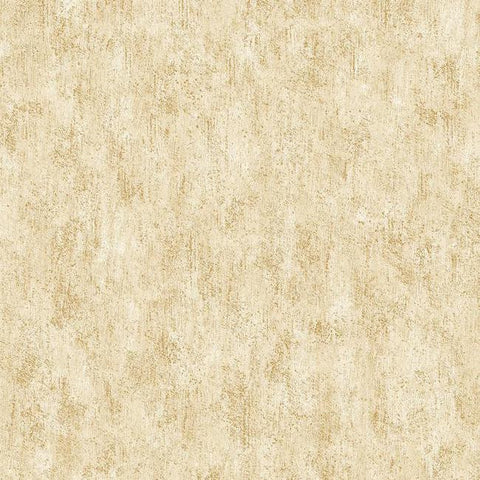 Shimmering Patina Wallpaper in Gold and Ivory by Antonina Vella for York Wallcoverings