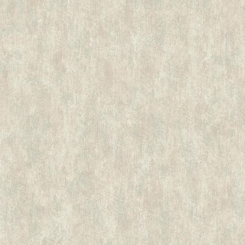 Shimmering Patina Wallpaper in Silver and Grey by Antonina Vella for York Wallcoverings