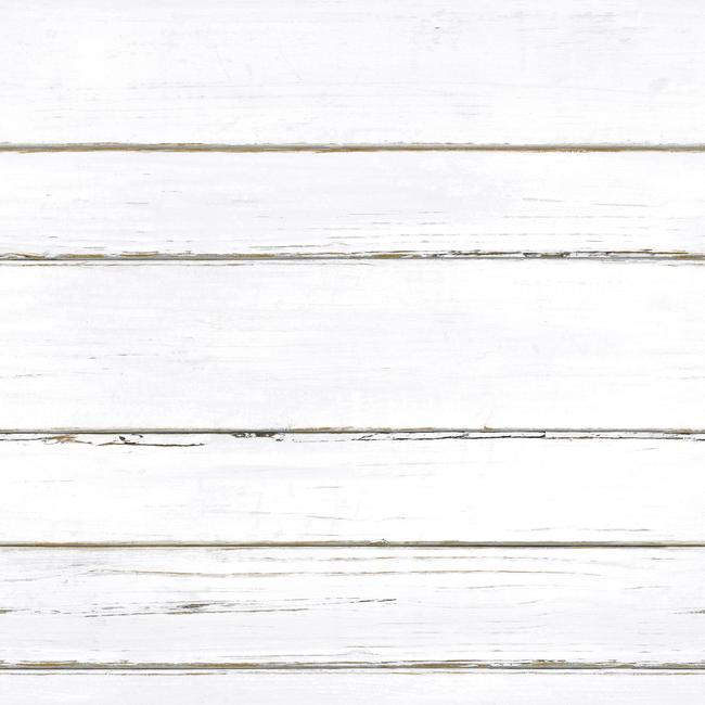 Shiplap Peel Stick Wallpaper In White By Roommates For
