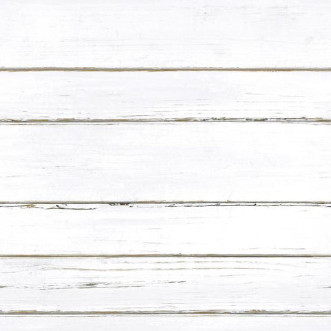 Shiplap Peel & Stick Wallpaper in White by RoomMates for York Wallcoverings