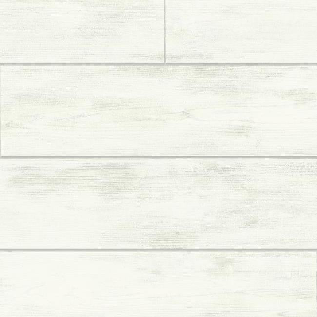 Shiplap Wallpaper In Ivory And Grey From The Magnolia Home