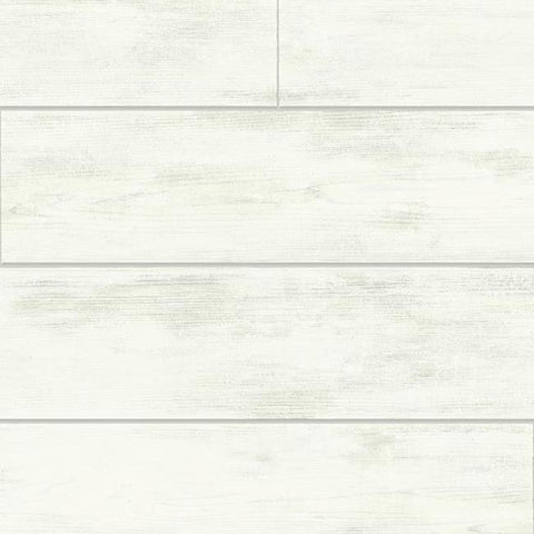 Shiplap Wallpaper in Ivory and Grey from the Magnolia Home Collection by Joanna Gaines for York Wallcoverings