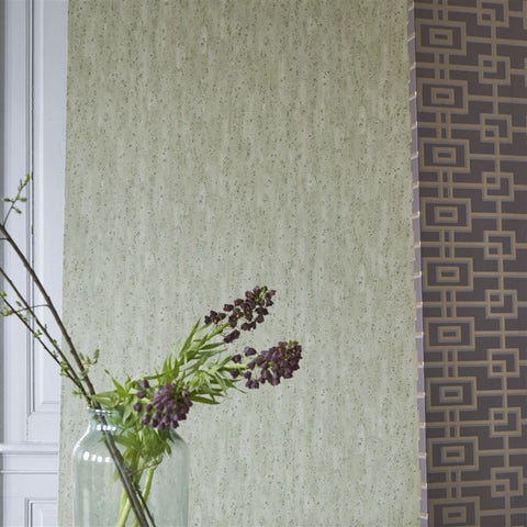 Shirakawa Wallpaper from the Zardozi Collection by Designers Guild