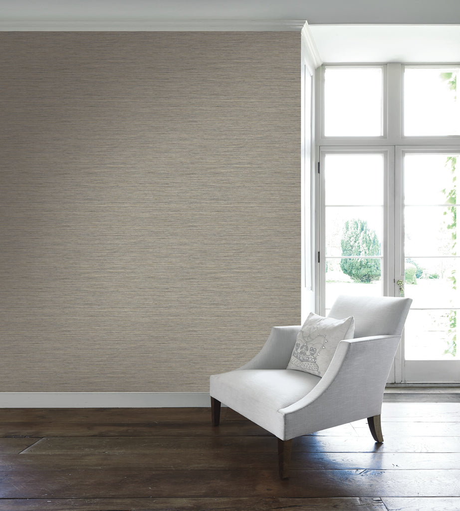 Silk Texture Wallpaper from the Caspia Collection by Wallquest