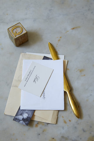 Solid Brass Letter Opener design by Sir/Madam